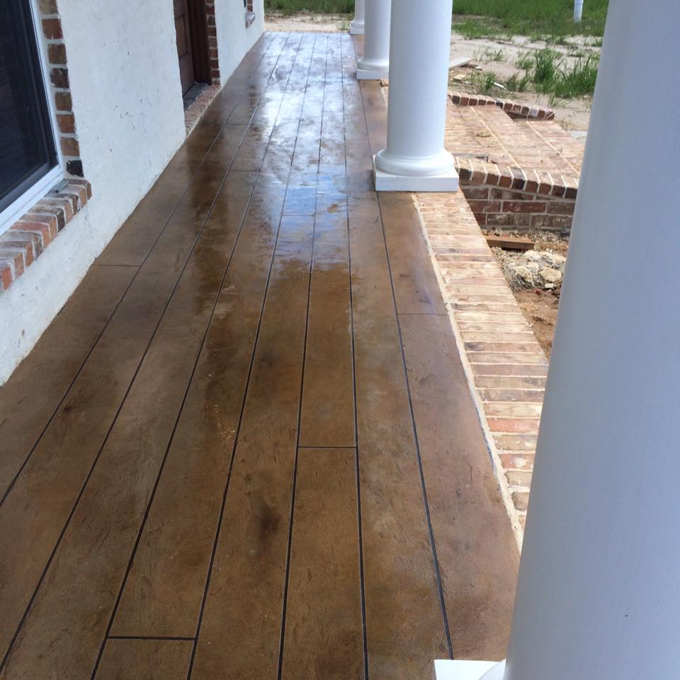 Concrete Wood Floors Concrete Wood Flooring Lafayette La