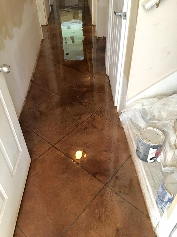 Concrete Micro Topping Overlay Lafayette Baton Rouge