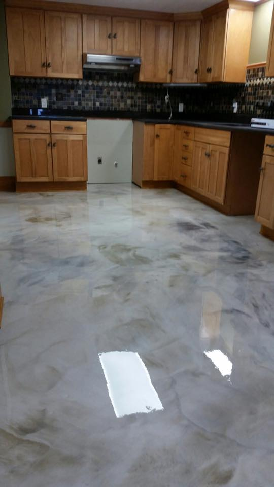 Resinous Metallic Epoxy Lake Arthur Louisiana