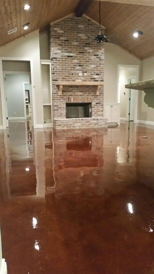 The Best Stained Concrete Lafayette Louisiana
