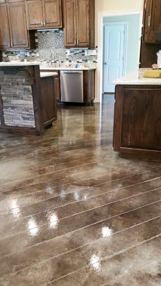 the best stained concrete